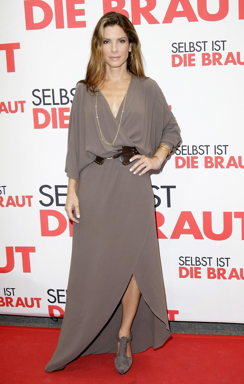 Sandra Bullock Attends Germany Premiere