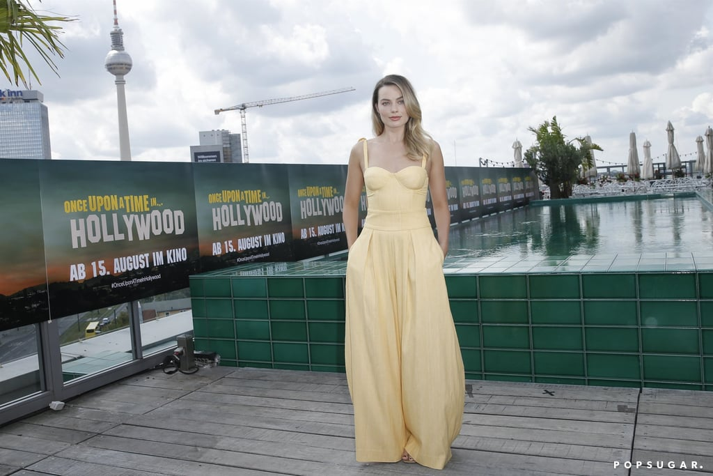 Margot Robbie at the Once Upon a Time in Hollywood photocall in Berlin.