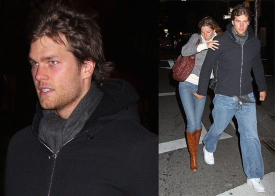 Watch Out For That NYC Wind, Tom and Gisele!