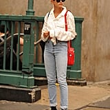 How to Wear Jeans: Hailey Baldwin