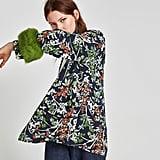 Zara Short Kimono With Cuffs