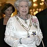 قلادة الملكة المصنوعة من الزبرجد البرازيليّ