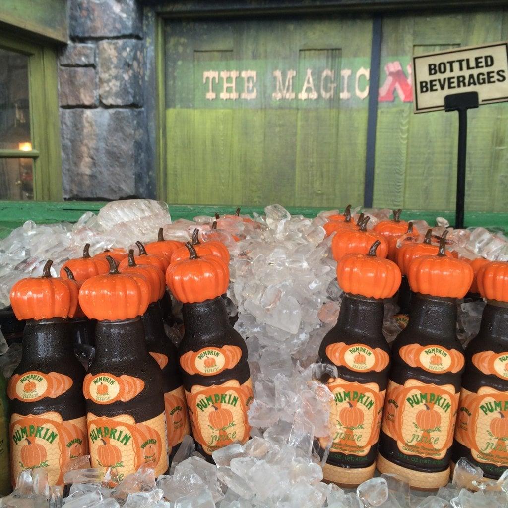 Try a Pumpkin Juice
