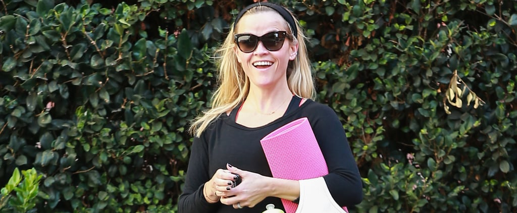 Reese Witherspoon Yoga