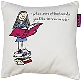 Roald Dahl Matilda Bookworm Cushion