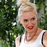 Gwen Stefani posed for photographs at the annual A Time For Heroes Celebrity Picnic in LA.