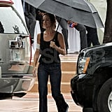 Minka Kelly shoots Charlie's Angels.