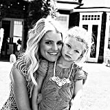 Jessica Simpson and Maxwell Johnson