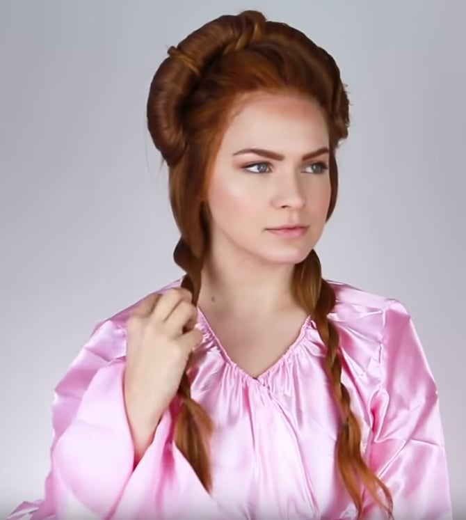 Sansa Hair Evolution 1