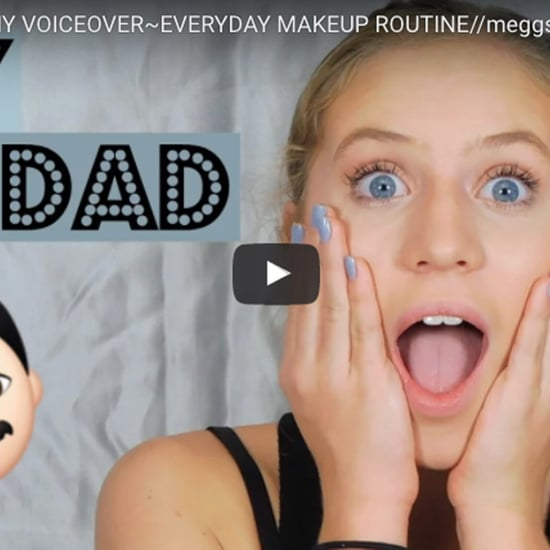 Dad Narrates Daughter's Makeup Tutorial