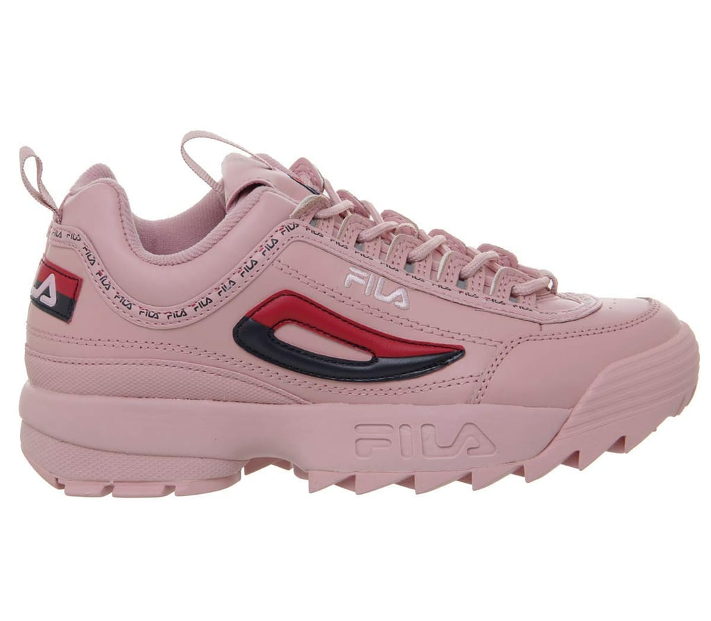 Fila Disruptor II Premium Repeat Pink Womens Trainers ($242)