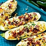 Jalapeño Popper Zucchini Boats