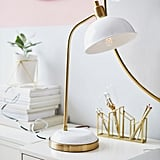Kennedy Task Lamp With USB