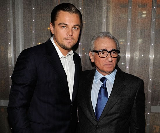 Slide Photo of Leonardo DiCaprio and Martin Scorsese in NYC