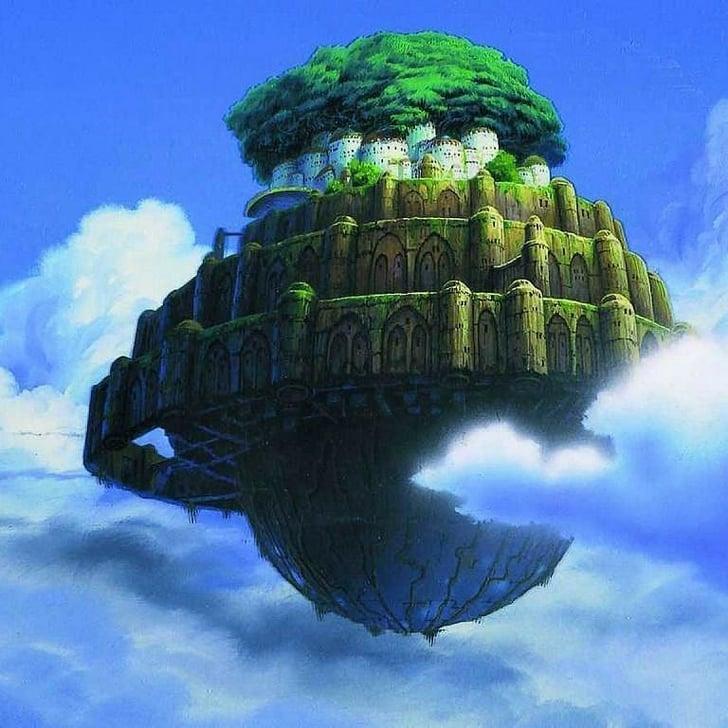 Castle In The Sky Studio Ghibli Iphone Wallpapers