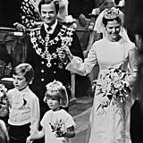 Queen Silvia of Sweden, 1976