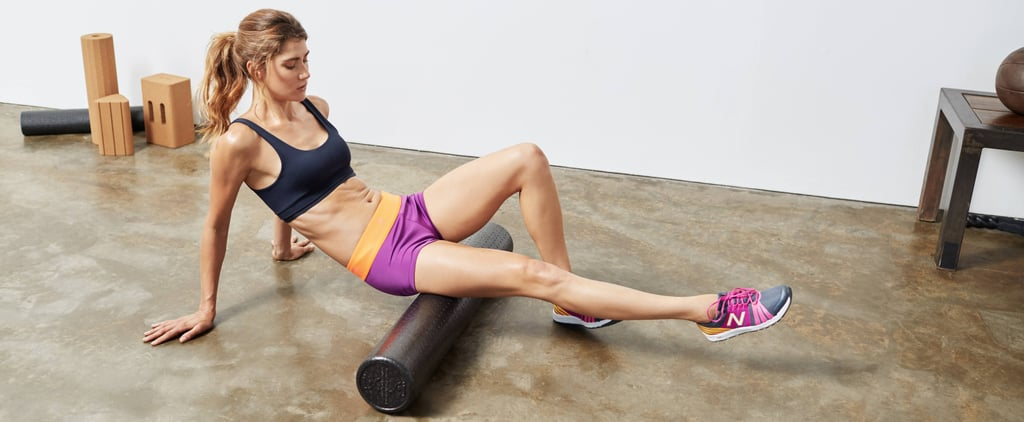 You've Been Foam Rolling All Wrong — Here's How a Trainer Suggests You Do It