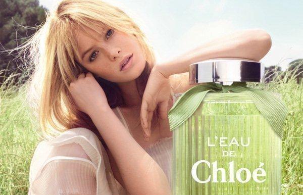"""Chloé """"L'eau De Chloé"""" Spring 2012 Fragrance Campaign"""