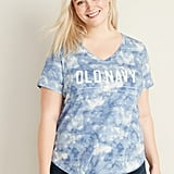 Old Navy EveryWear Slub-Knit Plus-Size V-Neck Tee