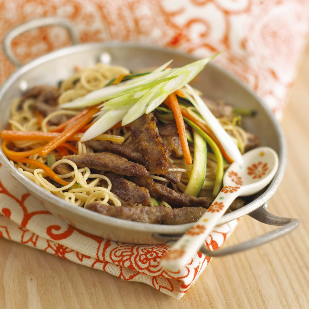 Marinated Beef With Vegetables