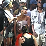 Pictures of Alicia and Beyonce