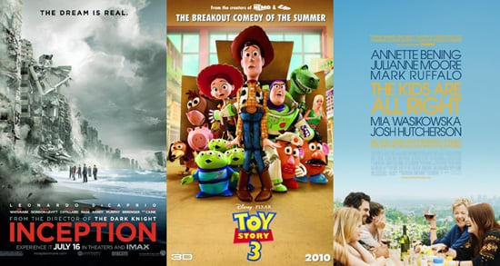Favorite Movies of the Summer