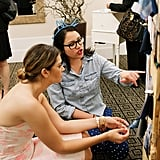 Katherine Fotinos, assistant editor at Glam, chatted with the event's founder, Karla Randolph. Photo by Ettevy Photography