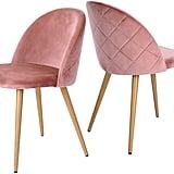 GreenForest Velvet Mid Century Modern Accent Chairs