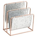 Metal Desk Letter Holder ($17)