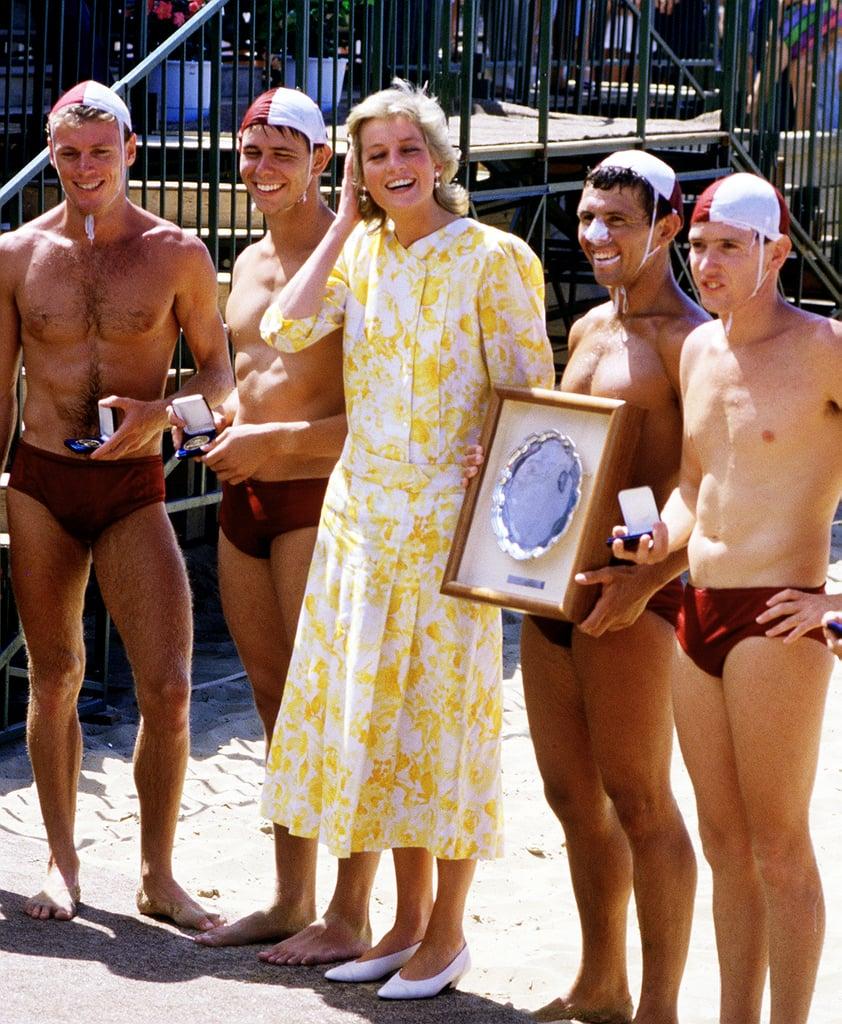 Princess Diana's Yellow Dress