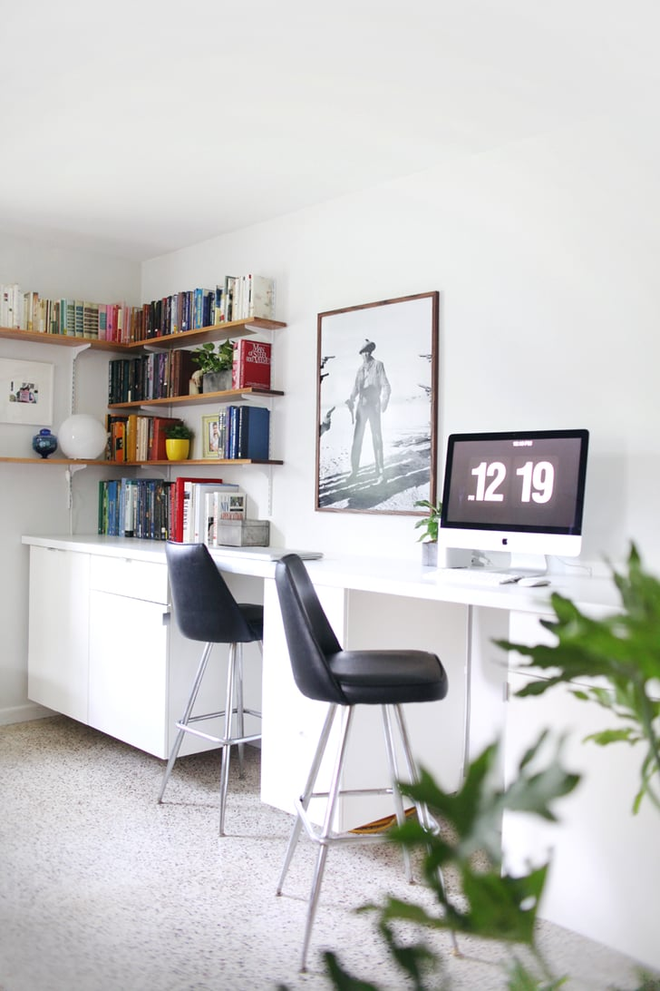 Custom Built In Desks Ikea Desk Hacks Popsugar Home