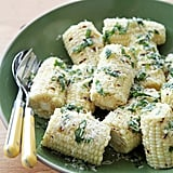 Grilled Corn With Basil and Parmesan