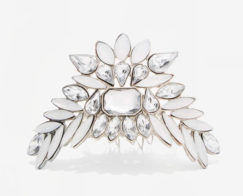 Nasty Gal Abbott Crystal Hair Pin ($20)