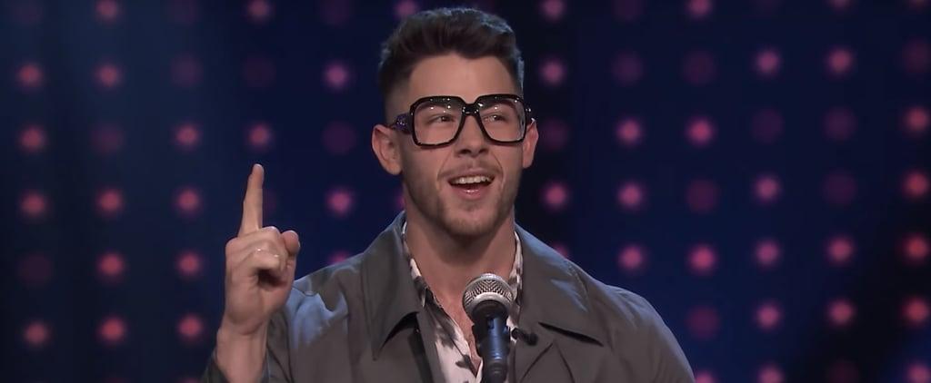 "Watch Nick Jonas Play ""Slay It, Don't Spray It"" on Fallon"
