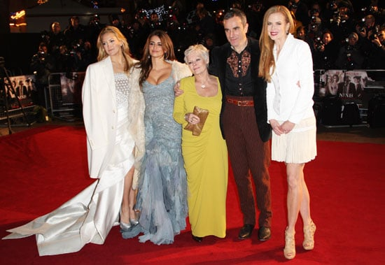 Photos of Kate Hudson, Penelope Cruz, Judi Dench, Daniel Day Lewis and Nicole Kidman at Nine World Premiere in London