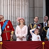 Will and Kate's First Trooping the Colour Together