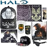 Halo Showbag ($26) Includes:  Backpack  Drink cooler  Headphones