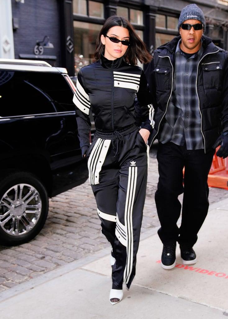 quality design ee38f ce8d0 Kendall Jenner s Adidas Track Suit   POPSUGAR Fashion UK