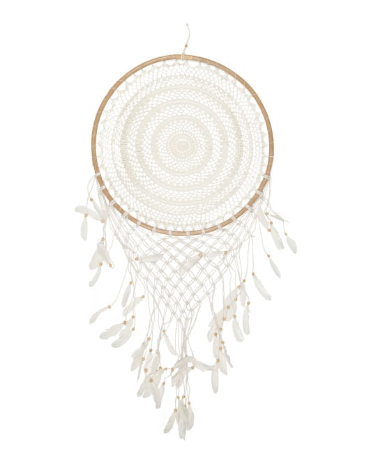 Rattan Crochet Dream Catcher