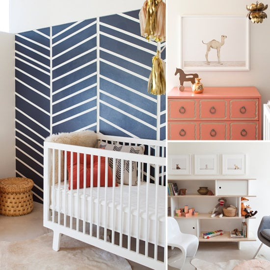 Nurseries: A Modern Nursery With a Spotlight on Baby-Animal Prints