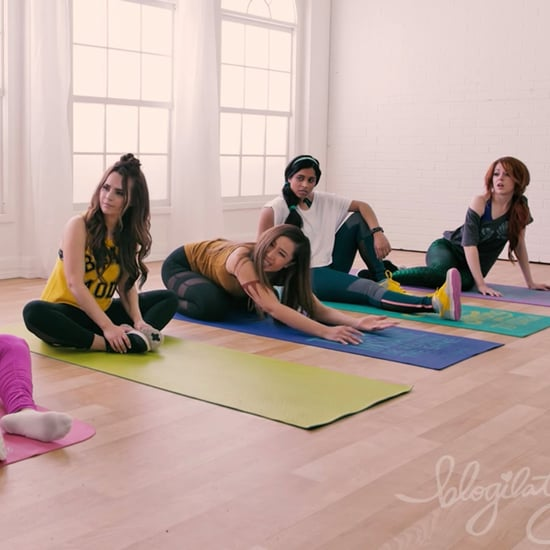 Princesses Disney à la Gym Blogilates