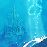 The Little Mermaid Castle Wallpaper