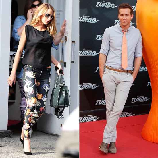Blake Lively Approves Ryan Reynolds Wardrobe