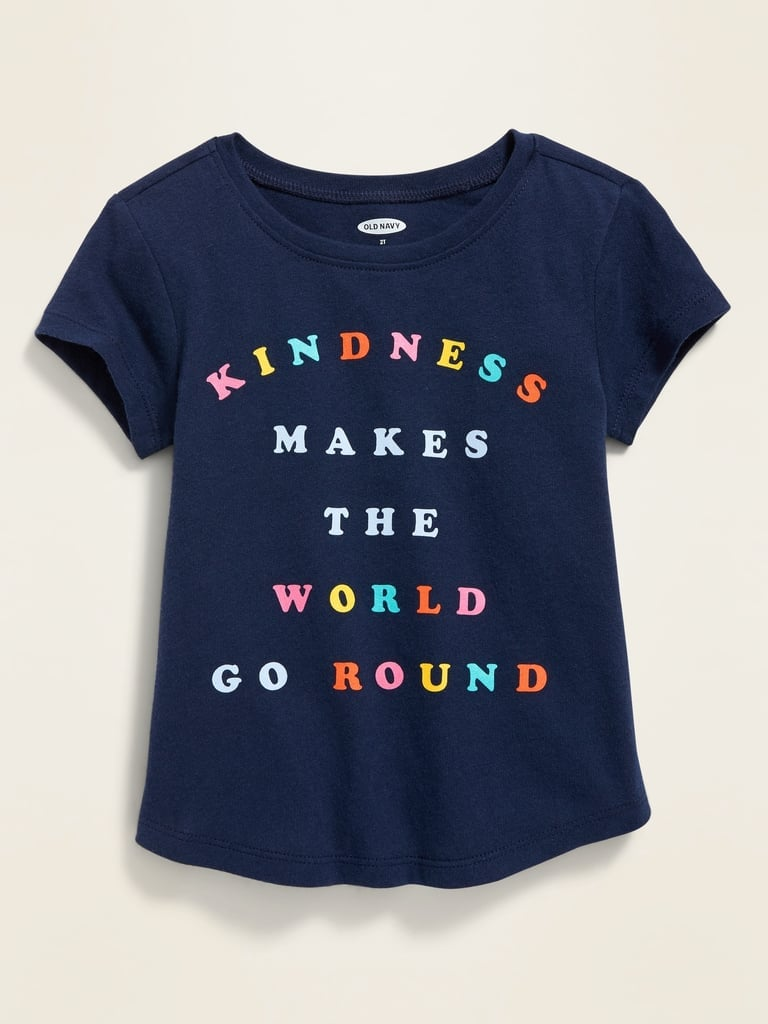 Inspirational Shirts For the Family From Old Navy