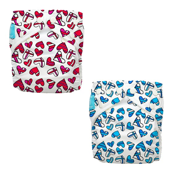 Kate & William Charlie Banana Fashion Diapers