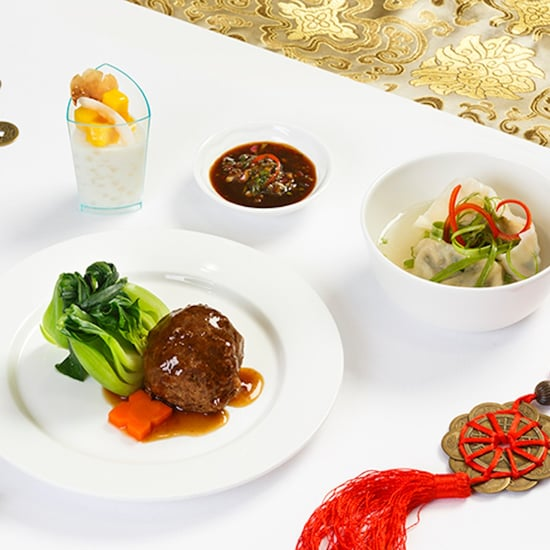 Lunar New Year Food on Emirates