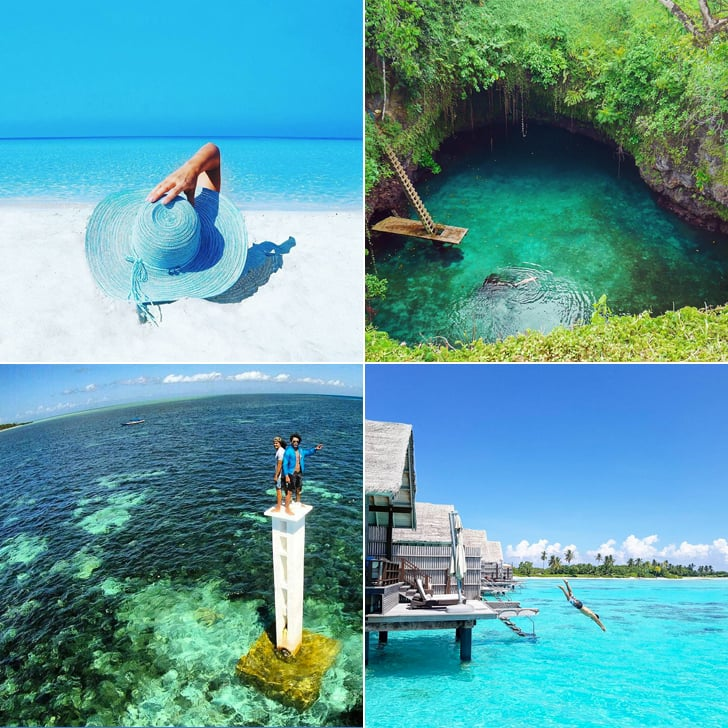 Places to See Clear, Blue Water