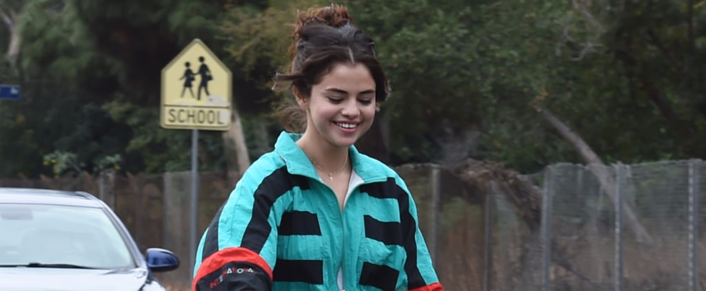 Selena Gomez and The Weeknd Might Have Split, but She's Having a Hard Time Letting Go of His Jacket