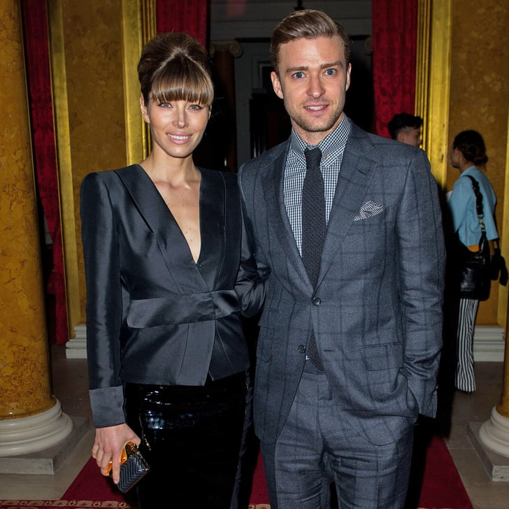 Jessica Biel and Justin Timberlake Join the Style Pack at LFW