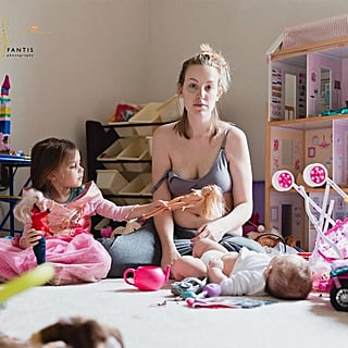 Photos Show Both Sides of Postpartum Depression